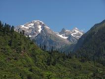 De valleilandschap van Parbati Royalty-vrije Stock Afbeeldingen
