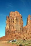 De valleirotsen van het monument Royalty-vrije Stock Fotografie