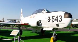 De Vallend ster van Lockheed rechts-33A Stock Afbeeldingen
