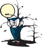 De Vampier van het beeldverhaal royalty-vrije illustratie