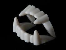 De vampier van tanden royalty-vrije stock foto