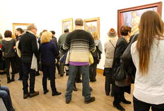 De Van Gogh à Kandisky Photos stock