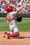 De Vanger Bryan Anderson van de Kardinalen van MLB St.Louis royalty-vrije stock afbeeldingen