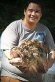 De vangst Snoeken gevangen vissend voor de winter Royalty-vrije Stock Fotografie
