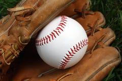De vangst van het honkbal Stock Foto