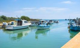 De varende boot Stock Foto