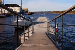 De varende boot bij brouwt Stock Fotografie