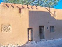 De Vargas Gata hus i Santa Fe som är ny - Mexiko royaltyfri bild