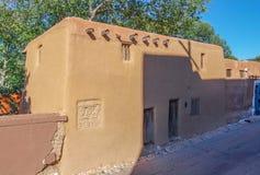 De Vargas Gata hus i Santa Fe som är ny - Mexiko royaltyfri fotografi