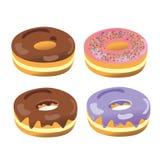 De Variant van het doughnutaroma Stock Afbeeldingen