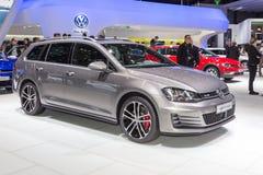 2015 de Variant van Volkswagen Golf GTD Stock Afbeelding