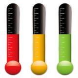 De variatie van de thermometer Stock Fotografie