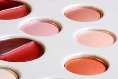 De vastgestelde close-up van de make-up Royalty-vrije Stock Foto