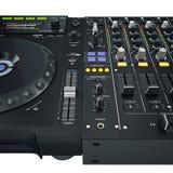 De vastgestelde controles van DJ Royalty-vrije Stock Afbeeldingen