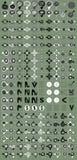 De vastgestelde Vector van het pictogram stock afbeeldingen