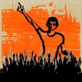 De Vastgestelde Vlieger van DJ van Indie Stock Foto's