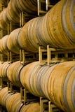 De vaten van de wijnmakerij stock foto