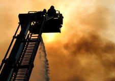 De vechter van de brand Stock Afbeelding