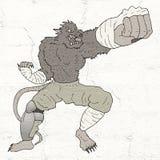 De vechter van de mutantrat vector illustratie