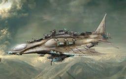 De vechter van de derde-generatiebommenwerper royalty-vrije illustratie