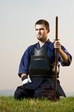 De vechter van Kendo Stock Foto