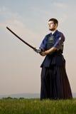 De vechter van Kendo Royalty-vrije Stock Afbeeldingen