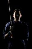 De vechter van Kendo Stock Fotografie