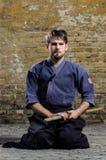 De vechter van Kendo Royalty-vrije Stock Afbeelding
