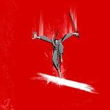 De Vechter van Ninja stock illustratie