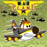 De Vechter van Warbird royalty-vrije illustratie