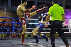 De Kampioenschappen van de Wereld van Muaythai Stock Fotografie