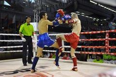 De Kampioenschappen van de Wereld van Muaythai Stock Foto's