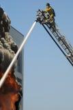 De Vechters van de brand Stock Foto's