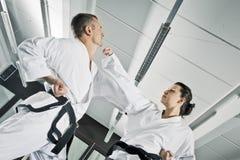 De vechters van vechtsporten Royalty-vrije Stock Afbeelding