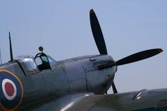 De vechtersvliegtuig van het heethoofd Stock Afbeelding