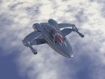 De vechtersvliegtuigen van de dubbel-motor veelvoudige rol en lage baaninterceptor Royalty-vrije Stock Foto