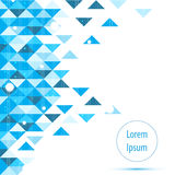De vector abstracte app blauwe hallo achtergrond van technologie Royalty-vrije Stock Afbeelding