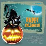 De vector achtergrond van Halloween Royalty-vrije Stock Foto