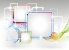 De vector achtergrond van het colouresontwerp Stock Fotografie