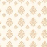De vector achtergrond van het damast naadloze patroon Royalty-vrije Stock Foto