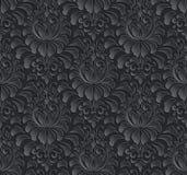 De vector achtergrond van het damast naadloze patroon Elegant Royalty-vrije Stock Afbeeldingen