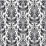 De vector achtergrond van het damast naadloze patroon Elegant Royalty-vrije Stock Foto