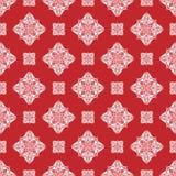 De vector achtergrond van het damast naadloze patroon Klassieke oude luxe vector illustratie