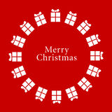 De vector Achtergrond van Kerstmis Royalty-vrije Stock Afbeeldingen