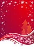 De vector achtergrond van Kerstmis Royalty-vrije Stock Foto