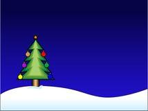 De vector Achtergrond van Kerstmis vector illustratie