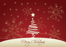 De vector achtergrond van Kerstmis Stock Foto
