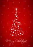De vector achtergrond van Kerstmis Stock Fotografie