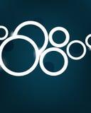 De vector achtergrond van minimalismbellen Royalty-vrije Stock Afbeelding