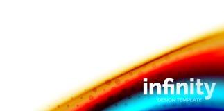 De vector 3d vloeibare achtergrond van de kleurengolf, stromende abstracte vorm met gestippelde textuur, vloeistof gemengde kleur Royalty-vrije Stock Foto's